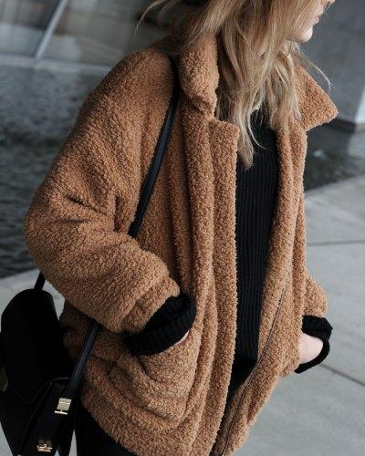 Teddy bear & leather