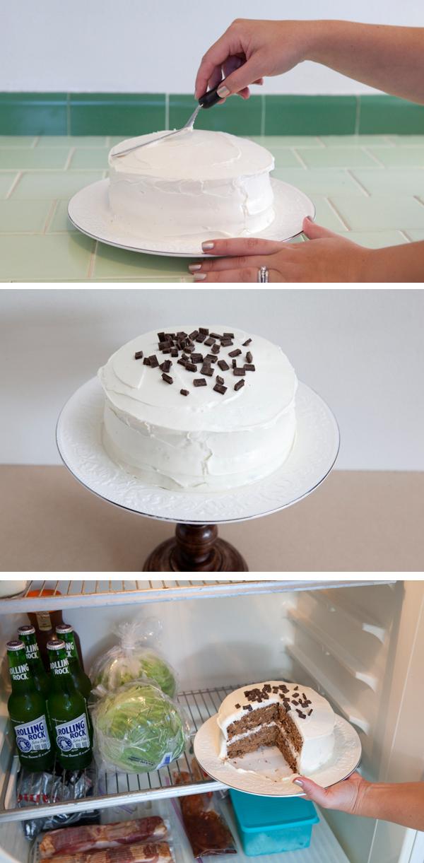 DIY wedding cake stand - Something Turquoise