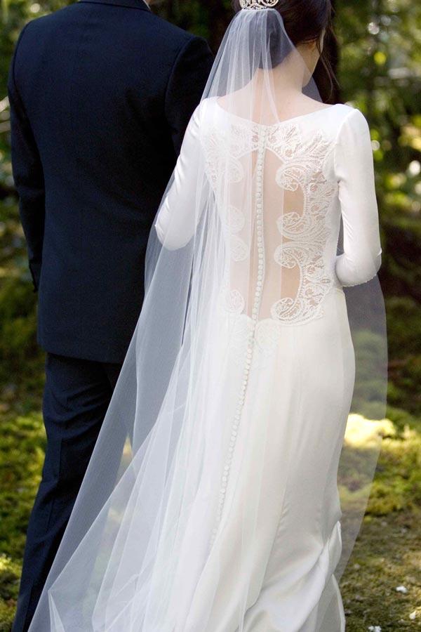 bella swan\'s wedding dress... - Something Turquoise