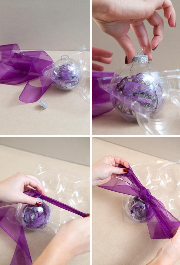 Diy wedding invitations purple