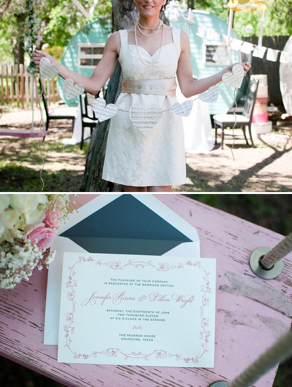 Vintage Dreamy Tea Party via Something Turquoise