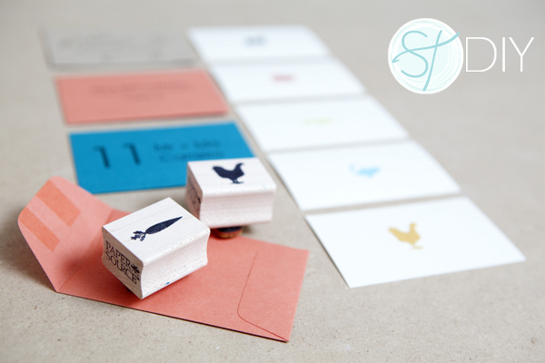 Mini Envelope Escort Cards with Menu Options! Something Turquoise DIY