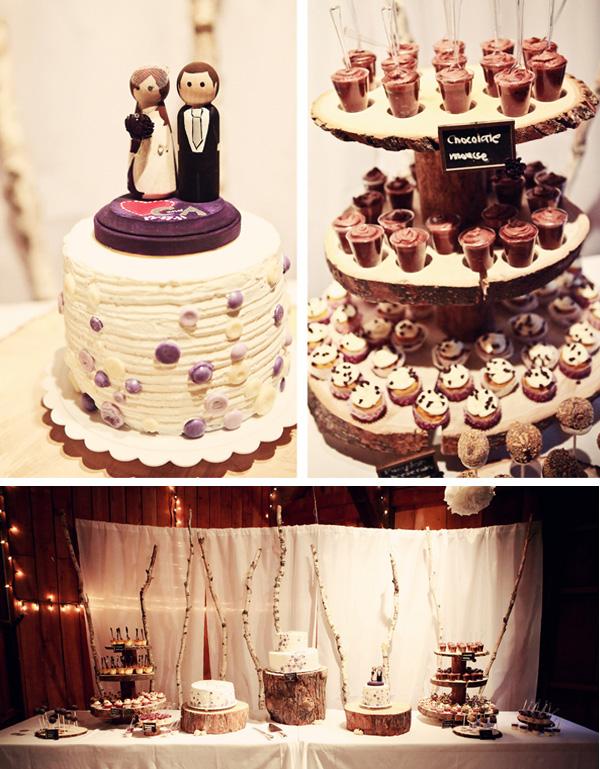 Vintage Purple DIY Wedding via Something Turquoise