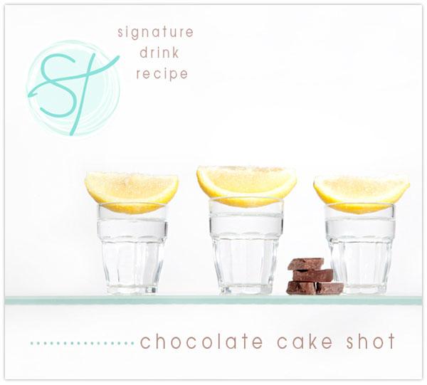 chocolate cake shot recipe