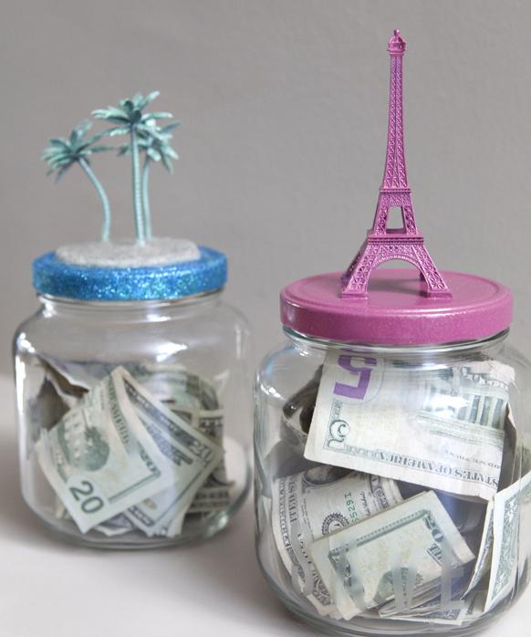 Saving for a Special OccasionChallenge - DIY Money Saving Jars