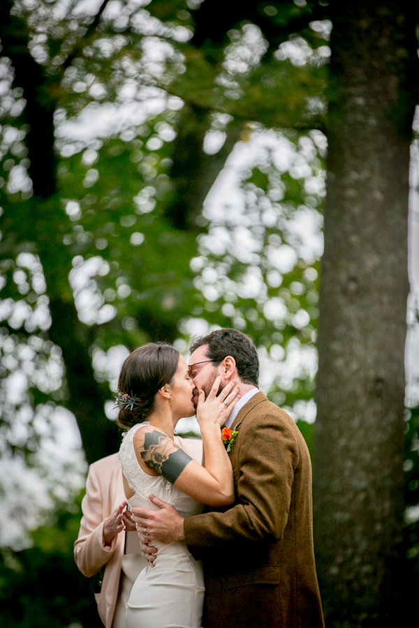 vermont outdoor mountain wedding