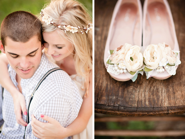 boho shabby chic engagement inspiration