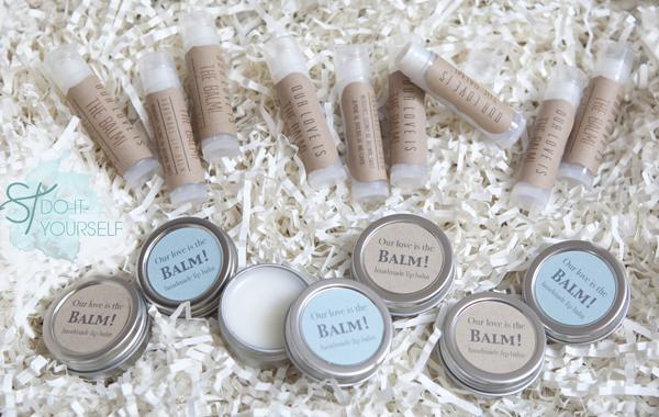 Guest Post: Lip Balm Wedding Favors