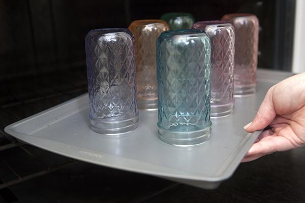 how to tint mason jars