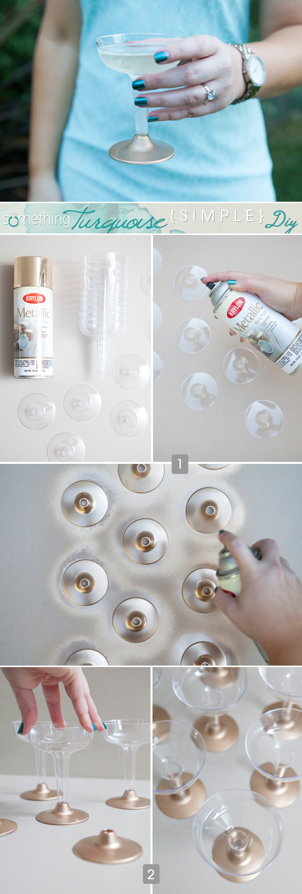 ST_Simple_DIY_gold_painted_plastic_glasses