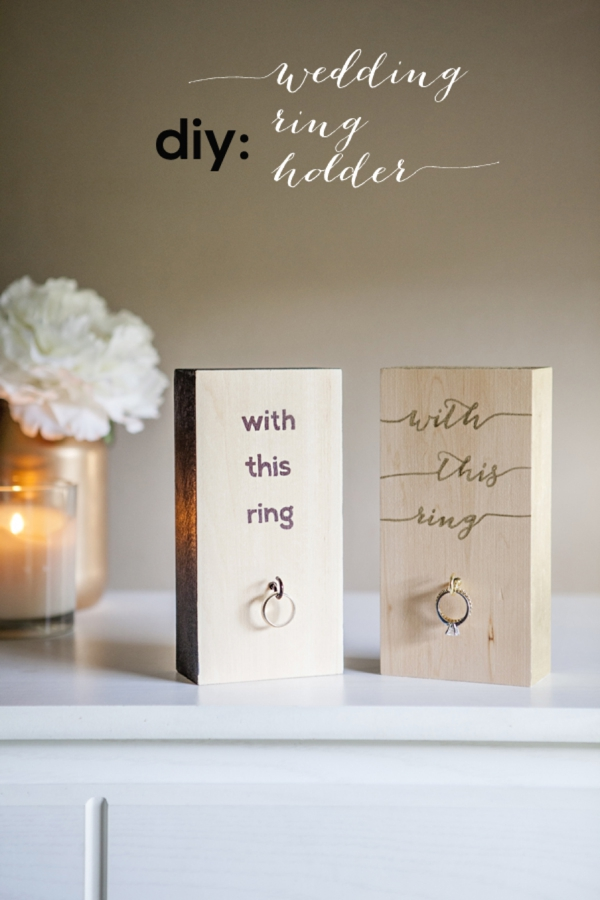 how to make a ring from wood