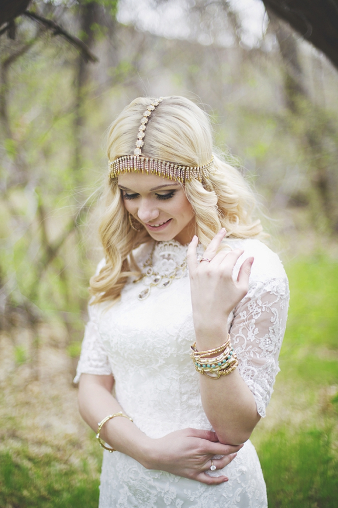 Gold, moroccan bohemian jewelry styling