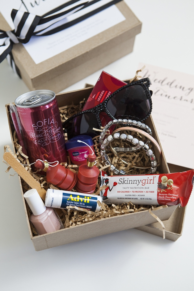 How to make a darling Bridesmaid Survival Kit!