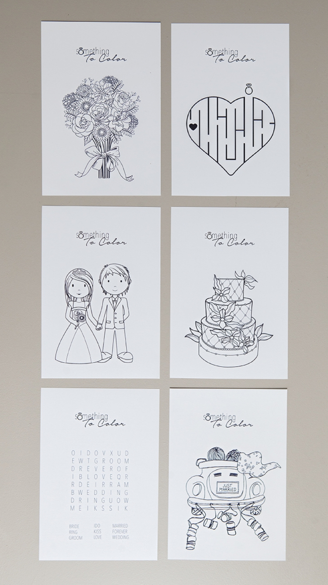 get these free coloring pages for weddings - Wedding Coloring Books