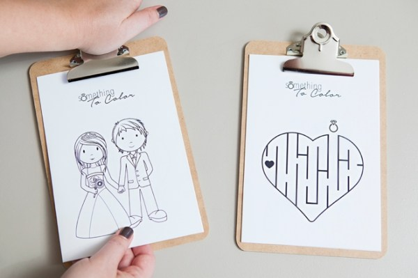 free wedding coloring pages # 12