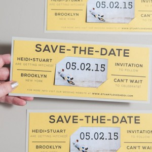 diy magnet save the dates