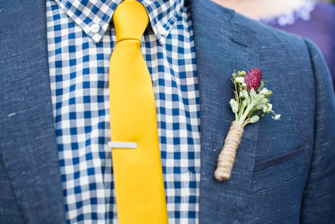 Boho groom style.