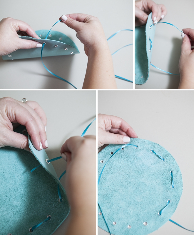 How to make a no-sew jewelry pouch!