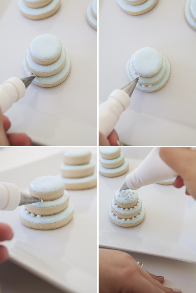 how to make a stacked wedding cake learn how to make these stacked wedding cookies 15859