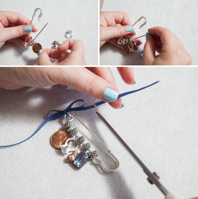 DIY something old new borrowed blue pin