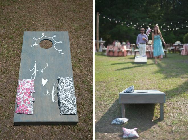 wedding cornhole