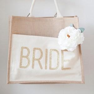 DIY - Glitter Iron-on Tote Bag