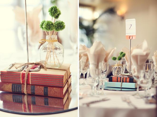 School themed wedding decor