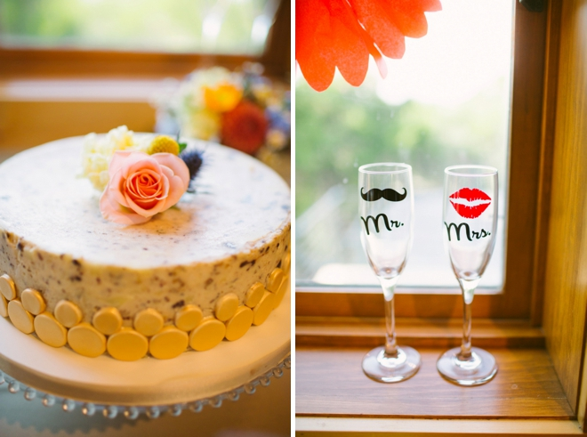 Colorful DIY wedding