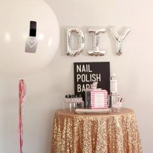 DIY Nail Polish Bar! Make your own nail polish!