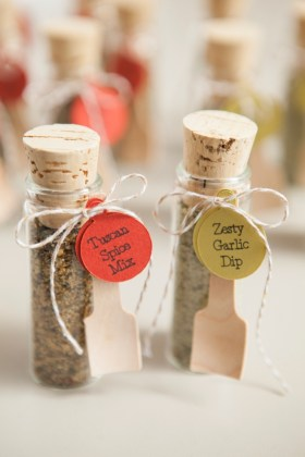 Make your own adorable spice dip mix wedding favors  DIY Wedding Favors    Spice Dip Mix