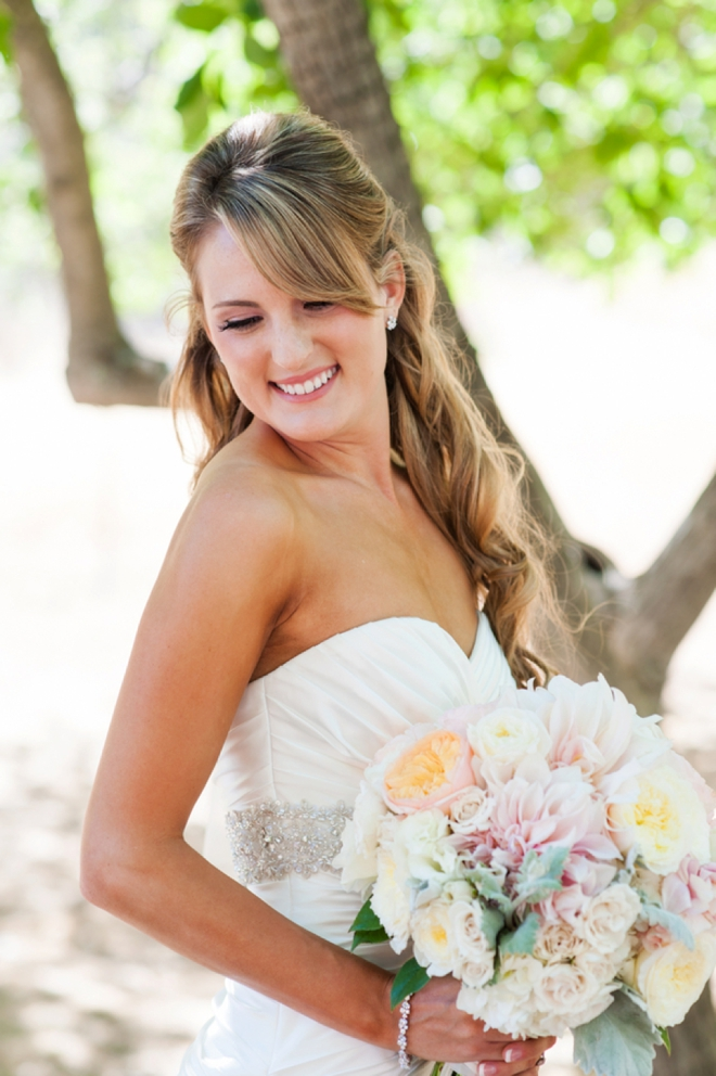 Gorgeous bride