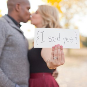 I Said Yes - sign