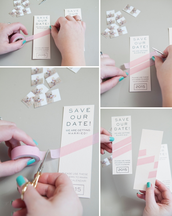 how to make save the date cards
