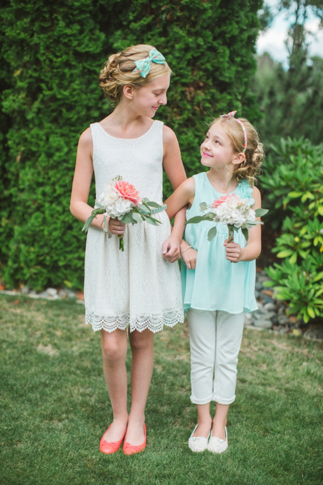 Darling flower girls