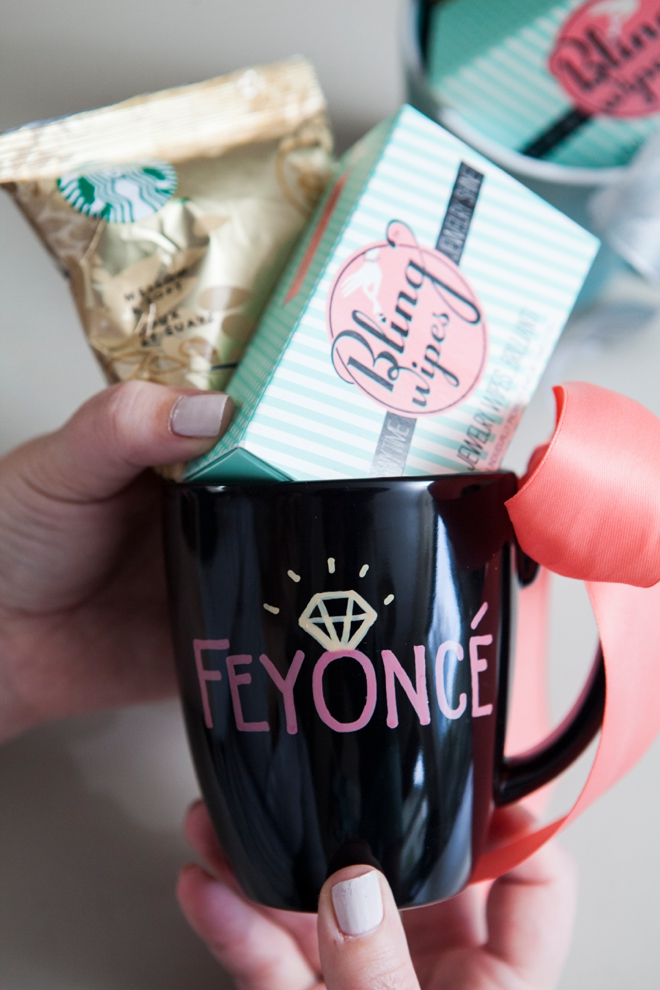 DIY Sharpie Paint Pen Mug - Feyoncé!