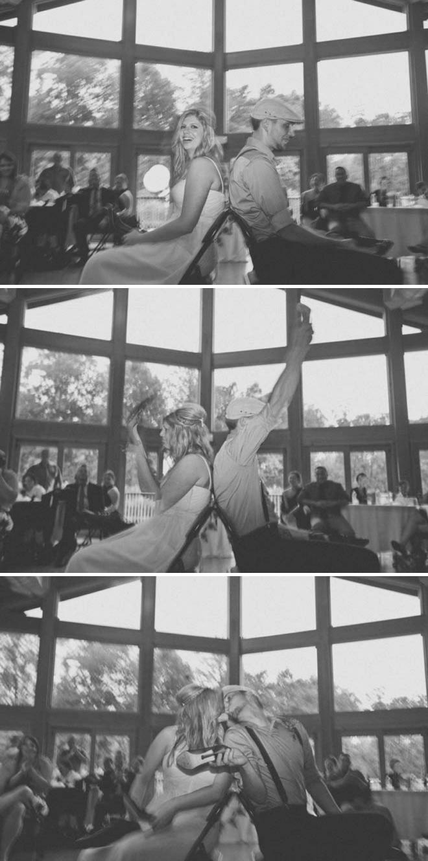 The wedding shoe game