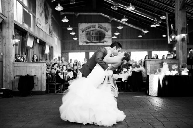 Dip the bride