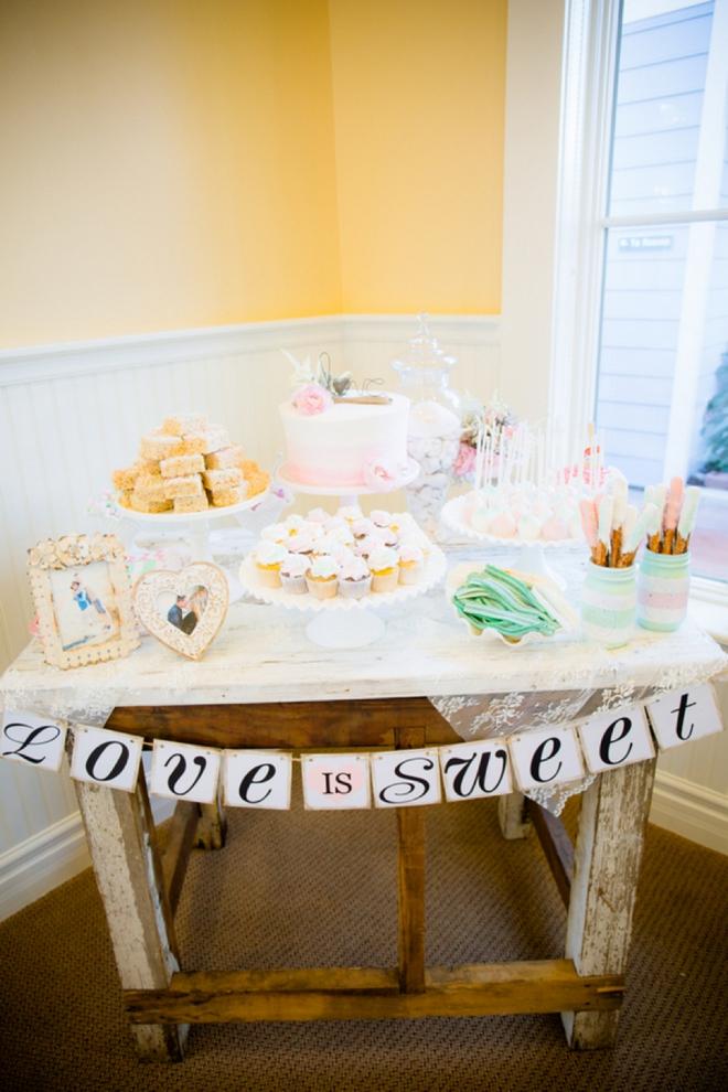 Love is Sweet, dessert table