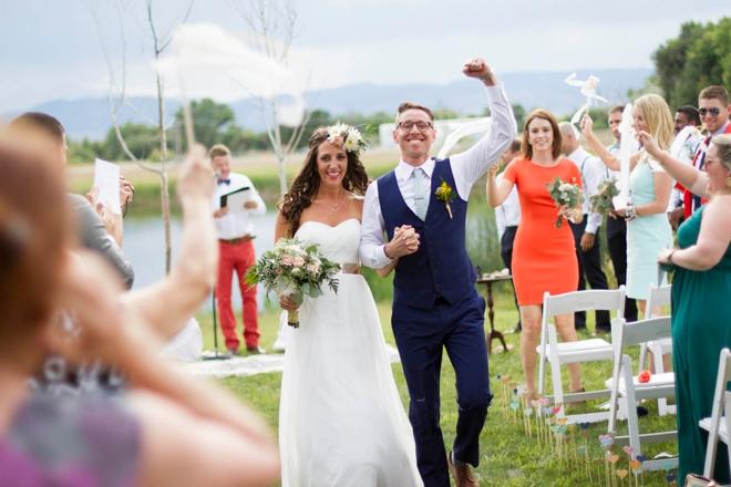 The happy Mr & Mrs