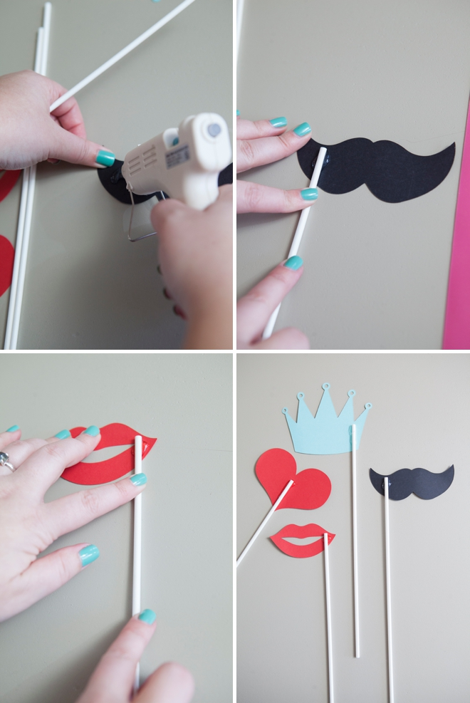 DIY   How To Make Your Own Photo Booth Stick Props