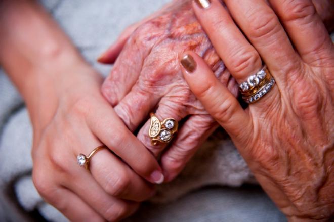 3 generations of wedding rings