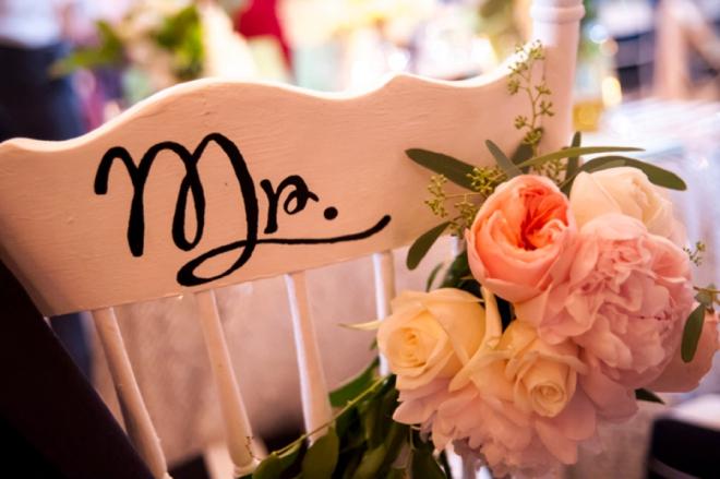 Mr. reception chair