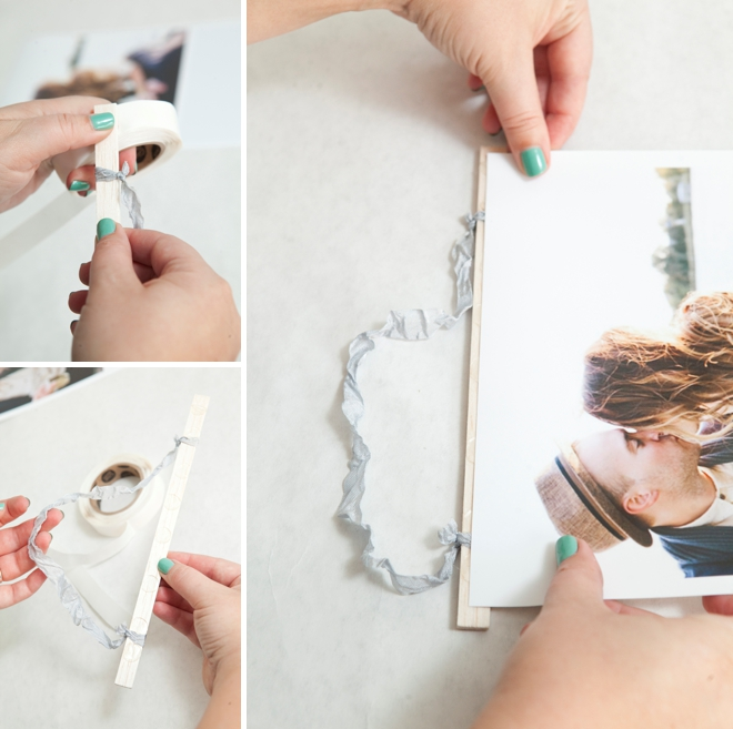DIY Giant Photostrip Guest Book