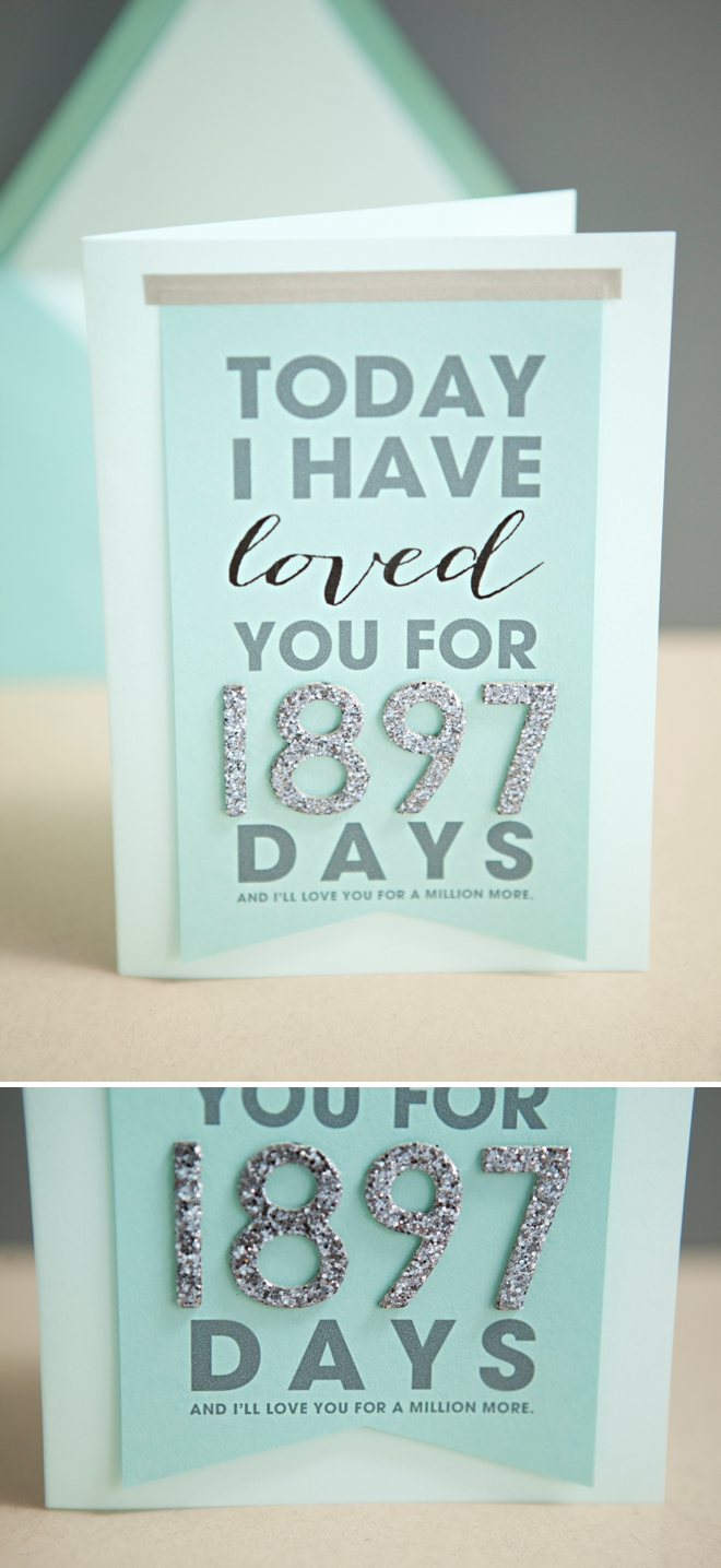 Diy Anniversary Gifts For Husband: Learn How To Make This Adorable Wedding Day Card