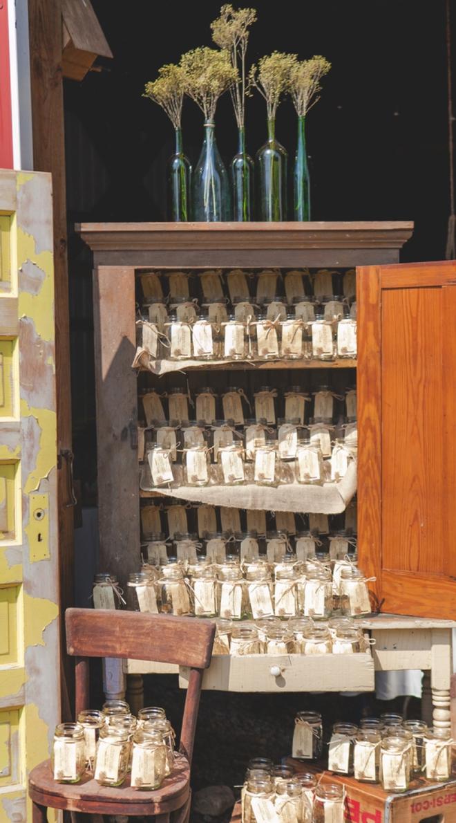 Mason jar mug wedding favors