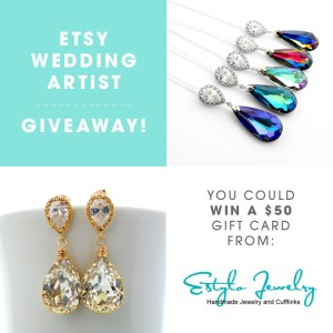 You could win a $50 gift card to Estylo Jewelry