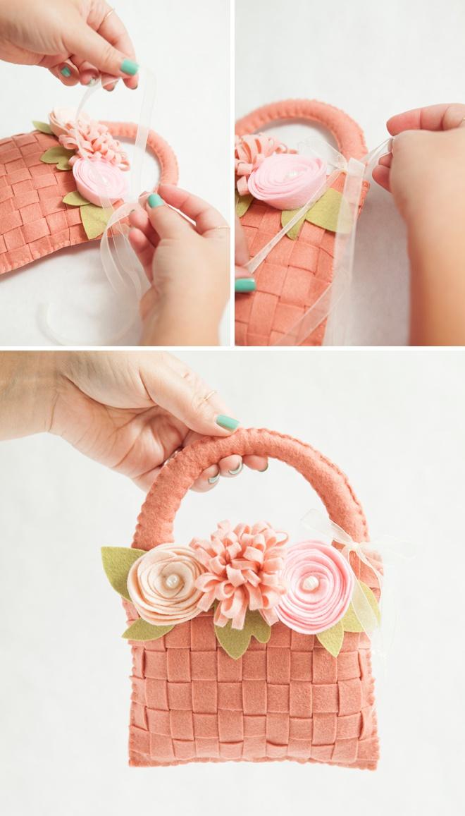Awesome, DIY sentiu cesta de flores para sua florista!