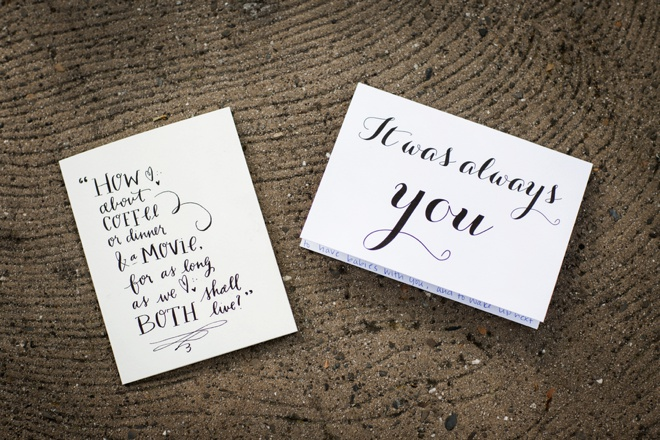 Wedding day cards, to the bride, to the groom