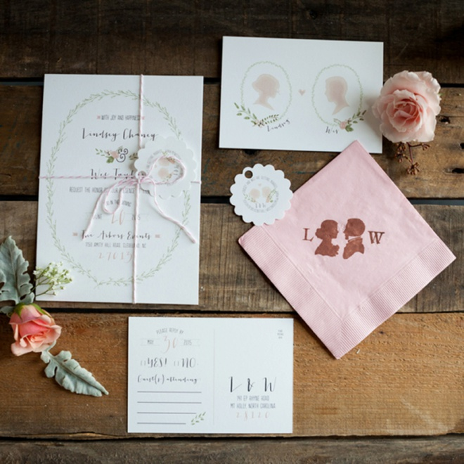 Beautiful, custom wedding invitations