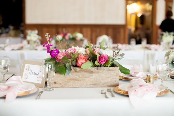 Gorgeous, rustic chic DIY wedding!